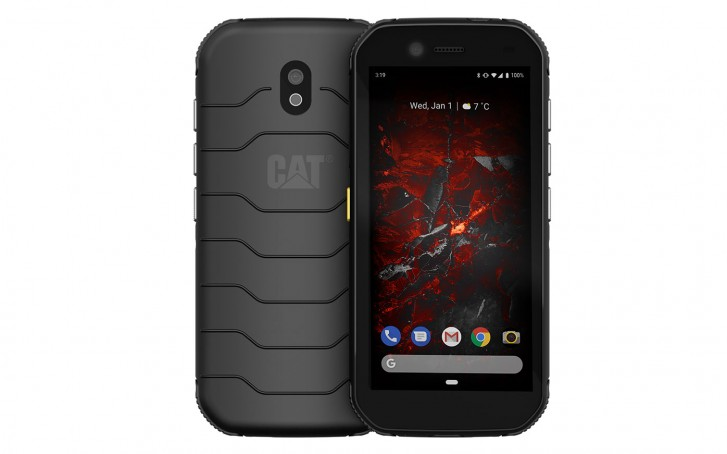 CAT S32 displej