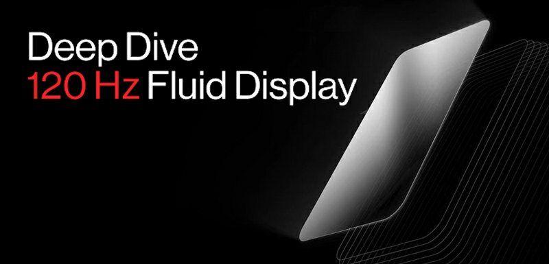 OnePlus Fluid displej 120 Hz