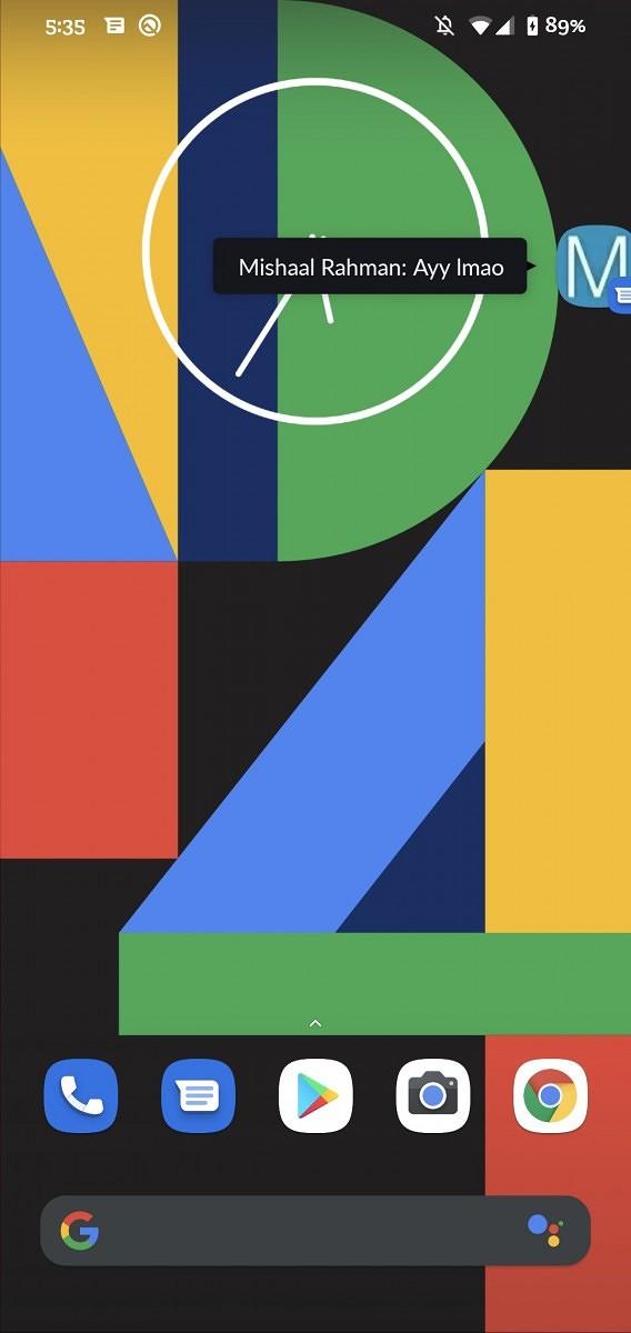 Google Správy četovacie okná