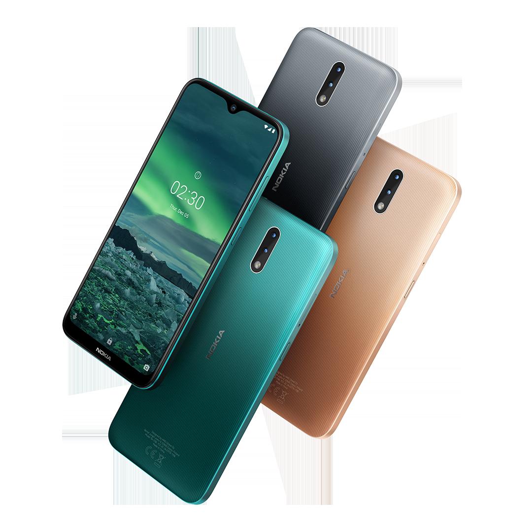 Nokia 2.3 farby