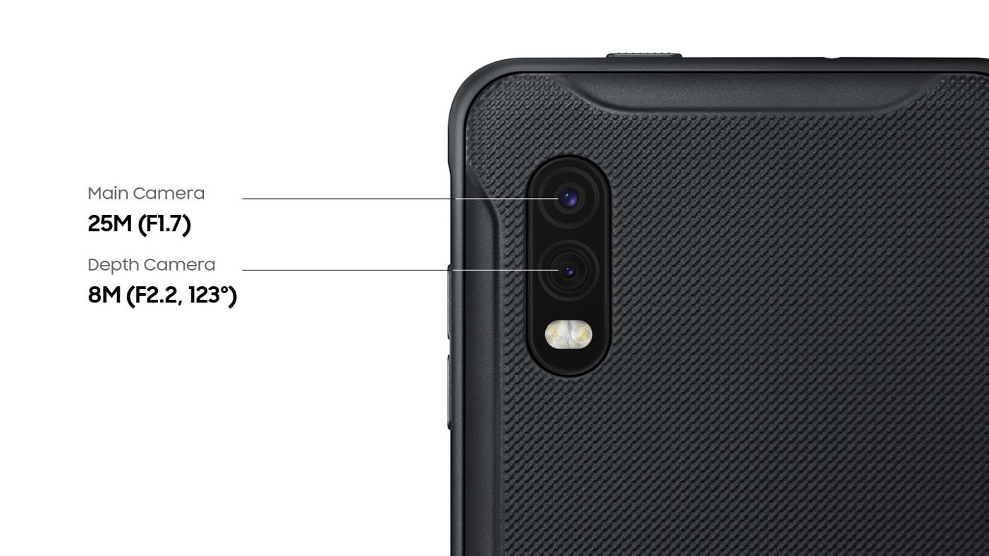 Samsung Galaxy Xcover Pro fotoaparat
