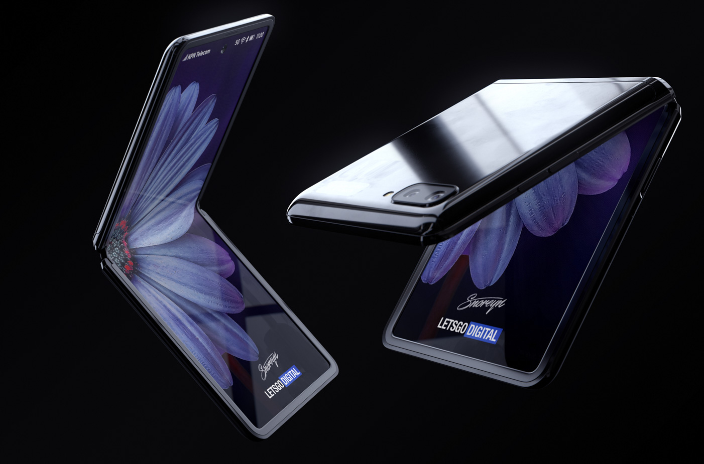 Samsung Galaxy Z Flip displej