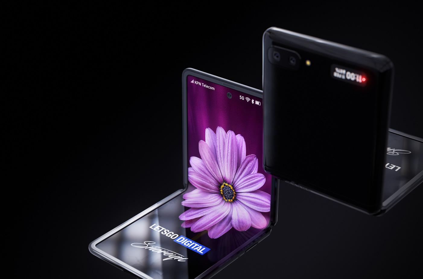 Samsung Galaxy Z Flip skladaci skladanie