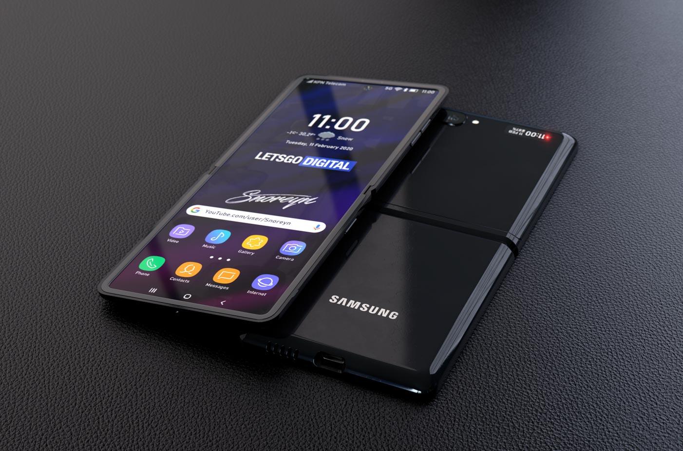Samsung Galaxy Z Flip displej