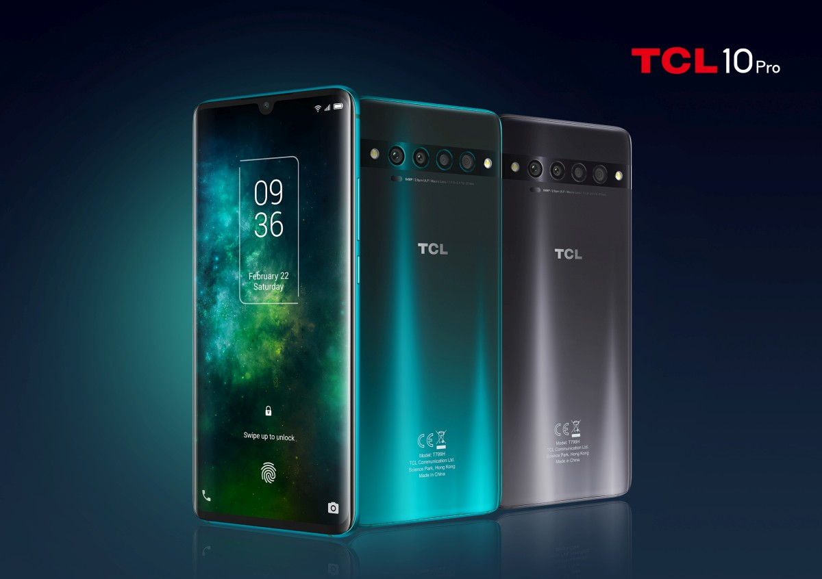 TCL 10 Pro farby