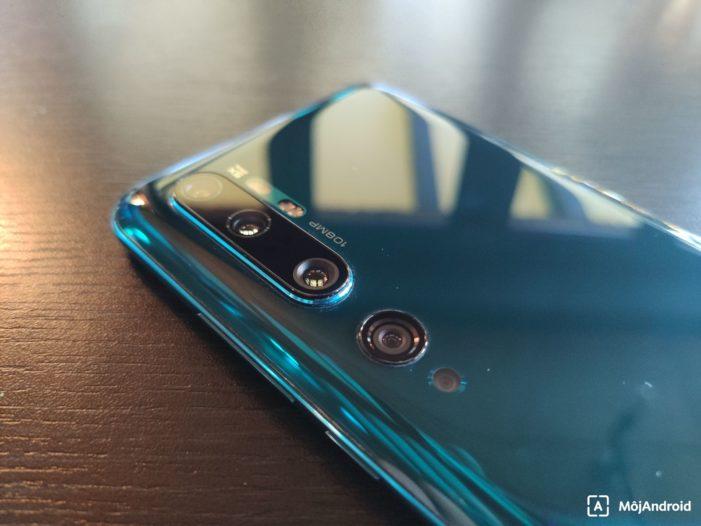 Xiaomi Mi Note 10 fotoaparáty