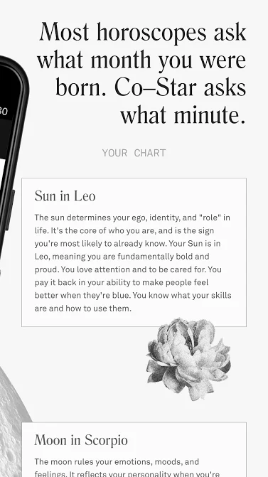 co-star personalized astrology