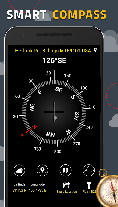 digital compass for android