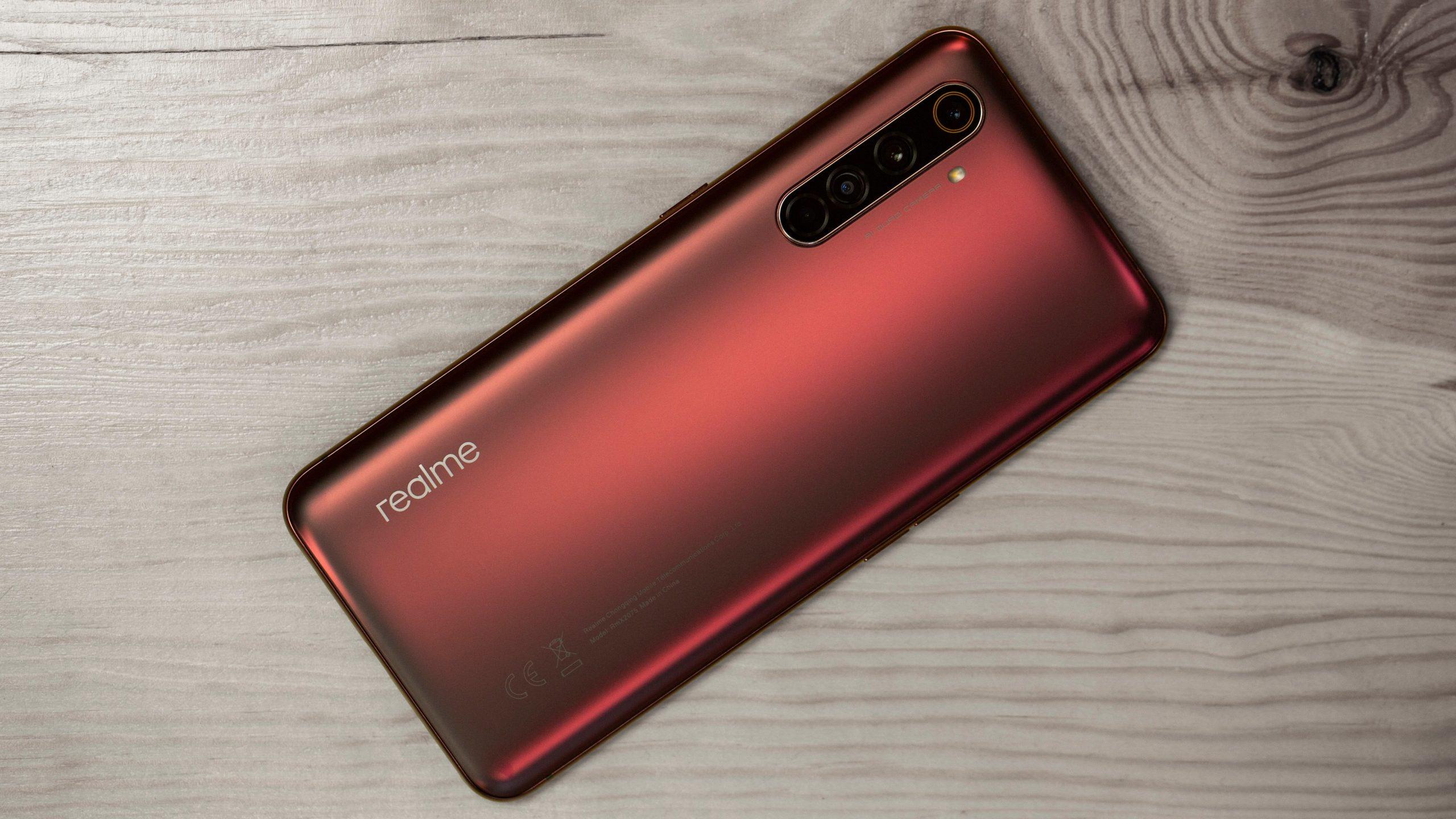 Realme X50 Pro 5G červený