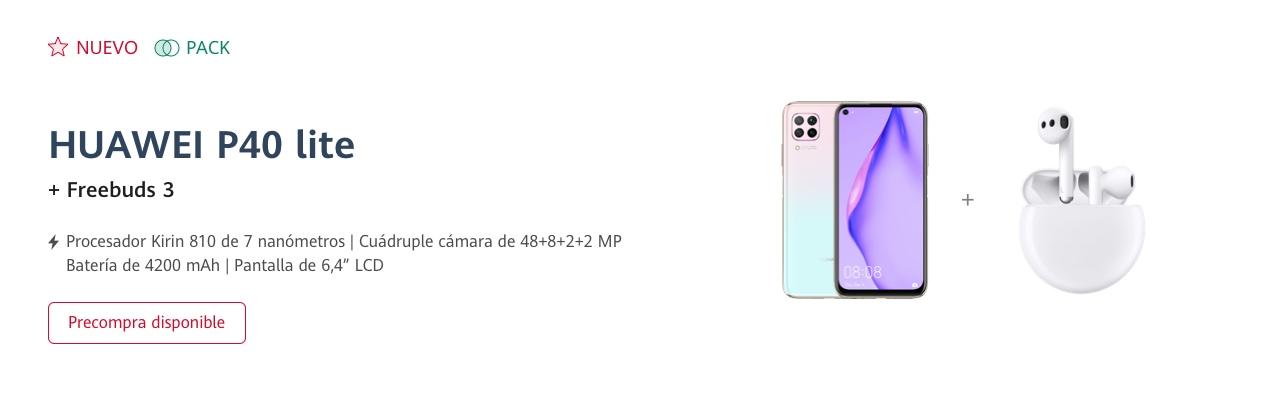 Huawei P40 Lite slúchadla