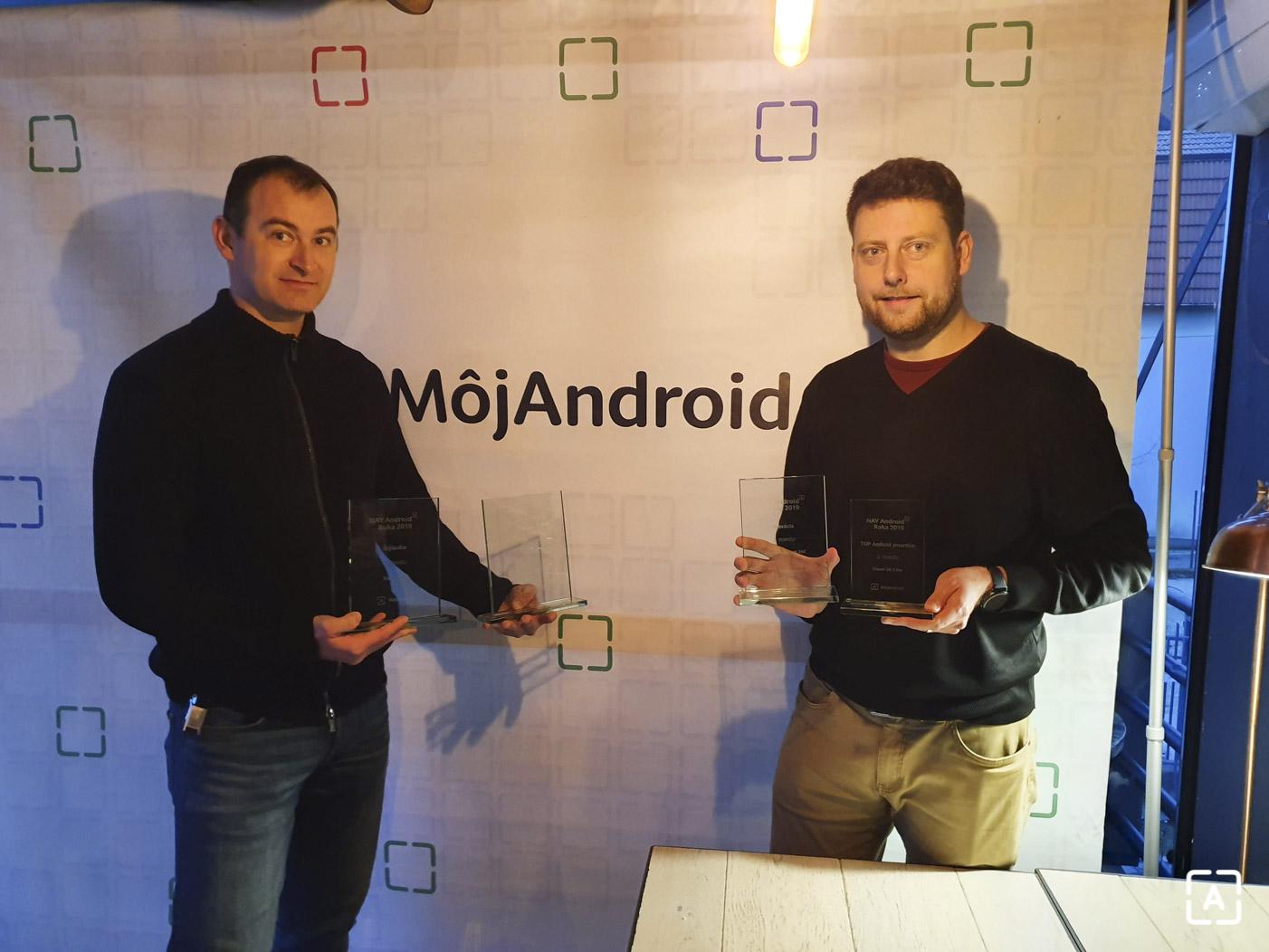 NAY Android Roka 2019 odovzdavanie cien