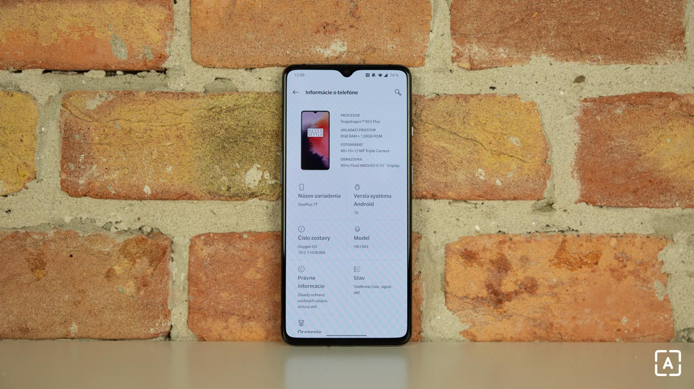 OnePlus 7T system