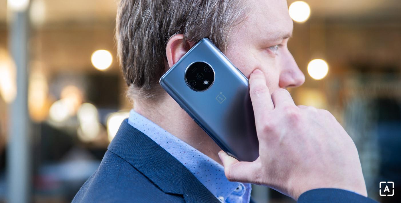 OnePlus 7T telefonovanie