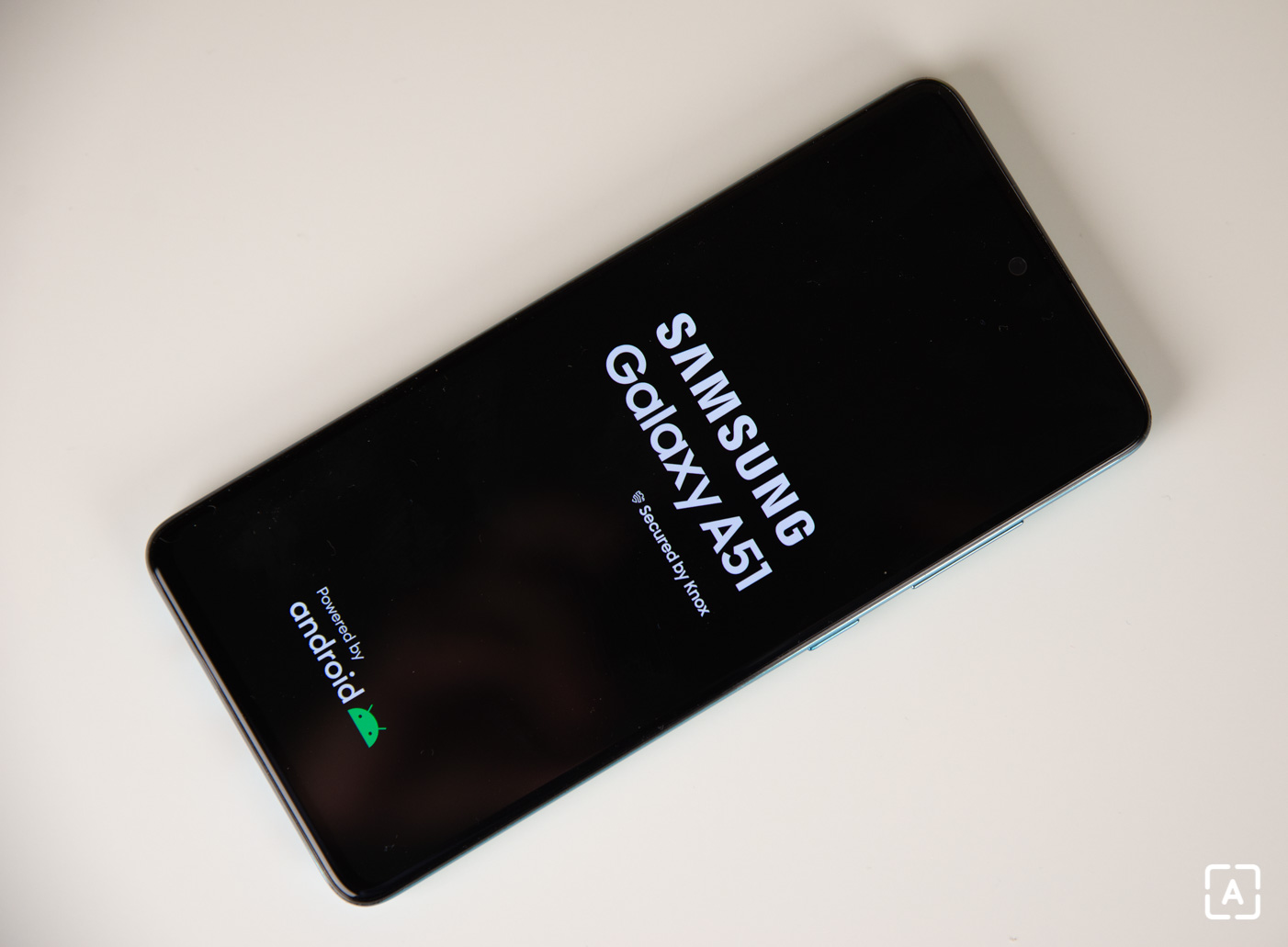 Samsung Galaxy A51 zapinanie