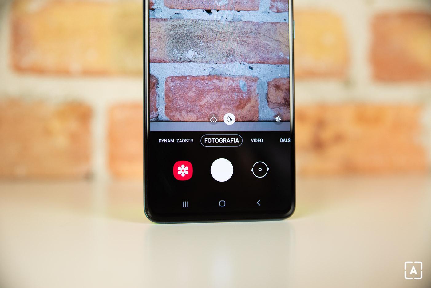 Samsung Galaxy A51 fotenie