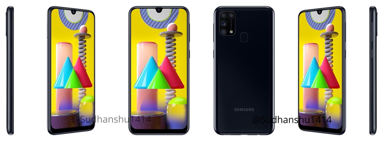 Samsung Galaxy M31 čierna