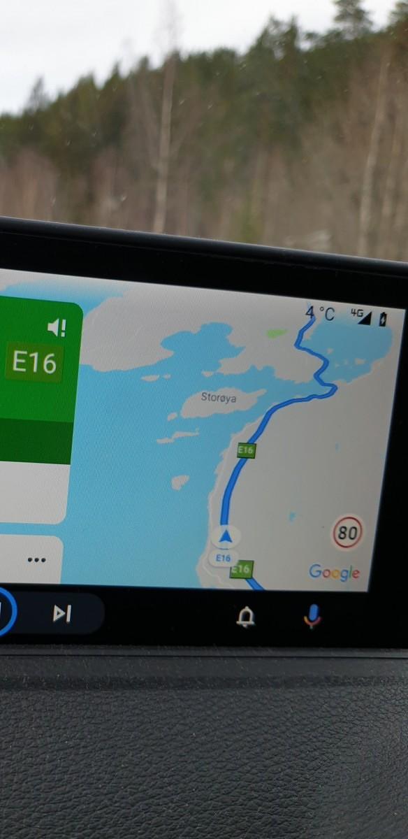android auto maximálna povolená rýchlosť google mapy