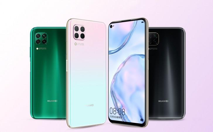 Huawei P40 Lite v zelenej farbe.