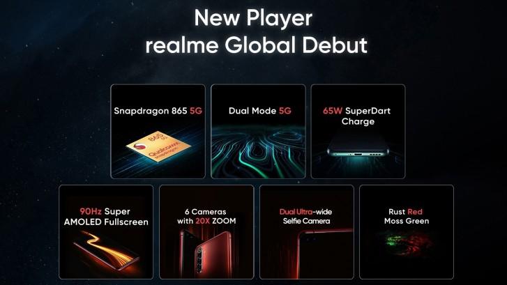 Realme X50 Pro 5G funkcie