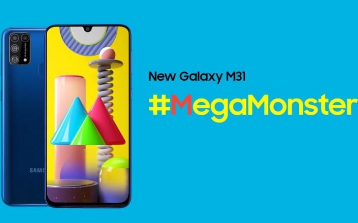 Samsung Galaxy M31 MegaMonster