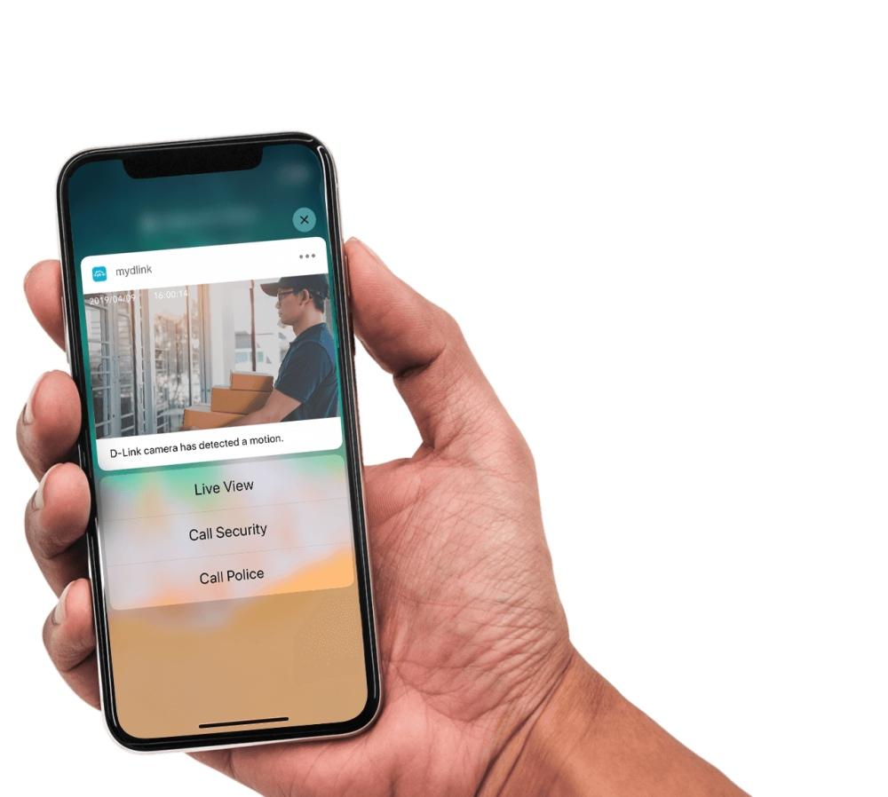 mydlink mobilná aplikácia iPhone