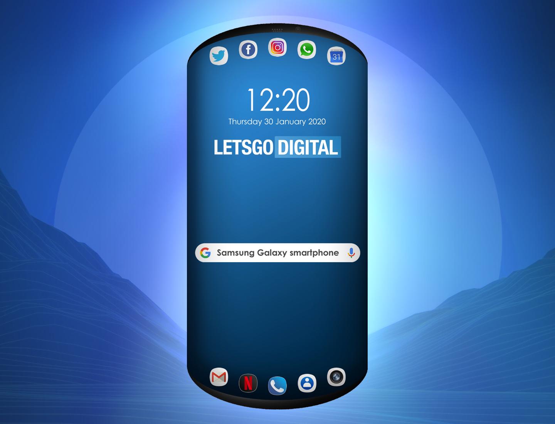 Samsung patent tri displeje 1