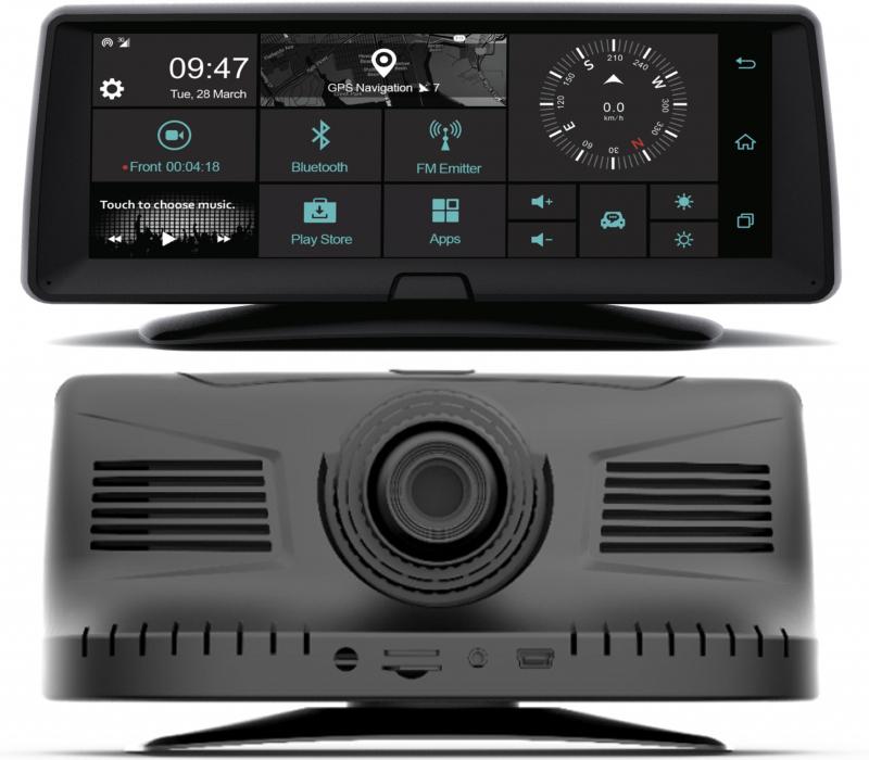 Carneo Combo A9400 displej a kamera