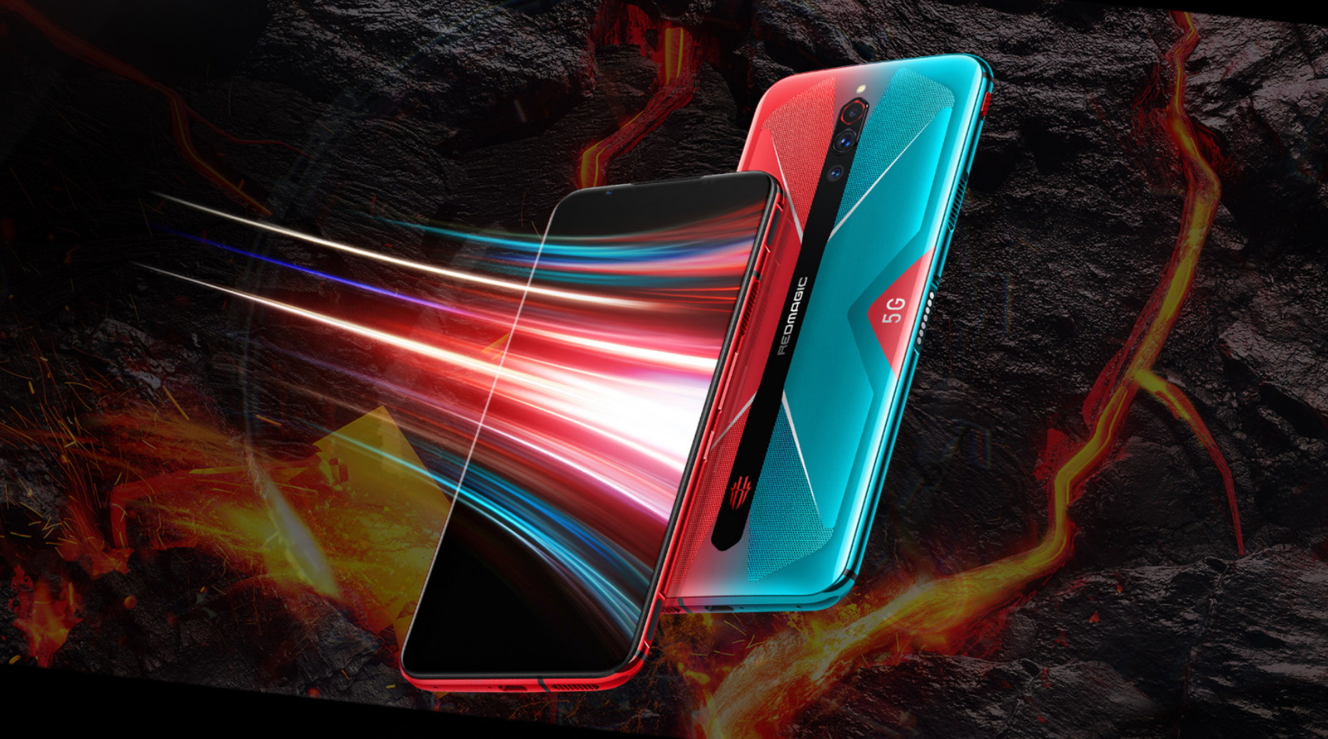 Nubia Red Magic 5G farby