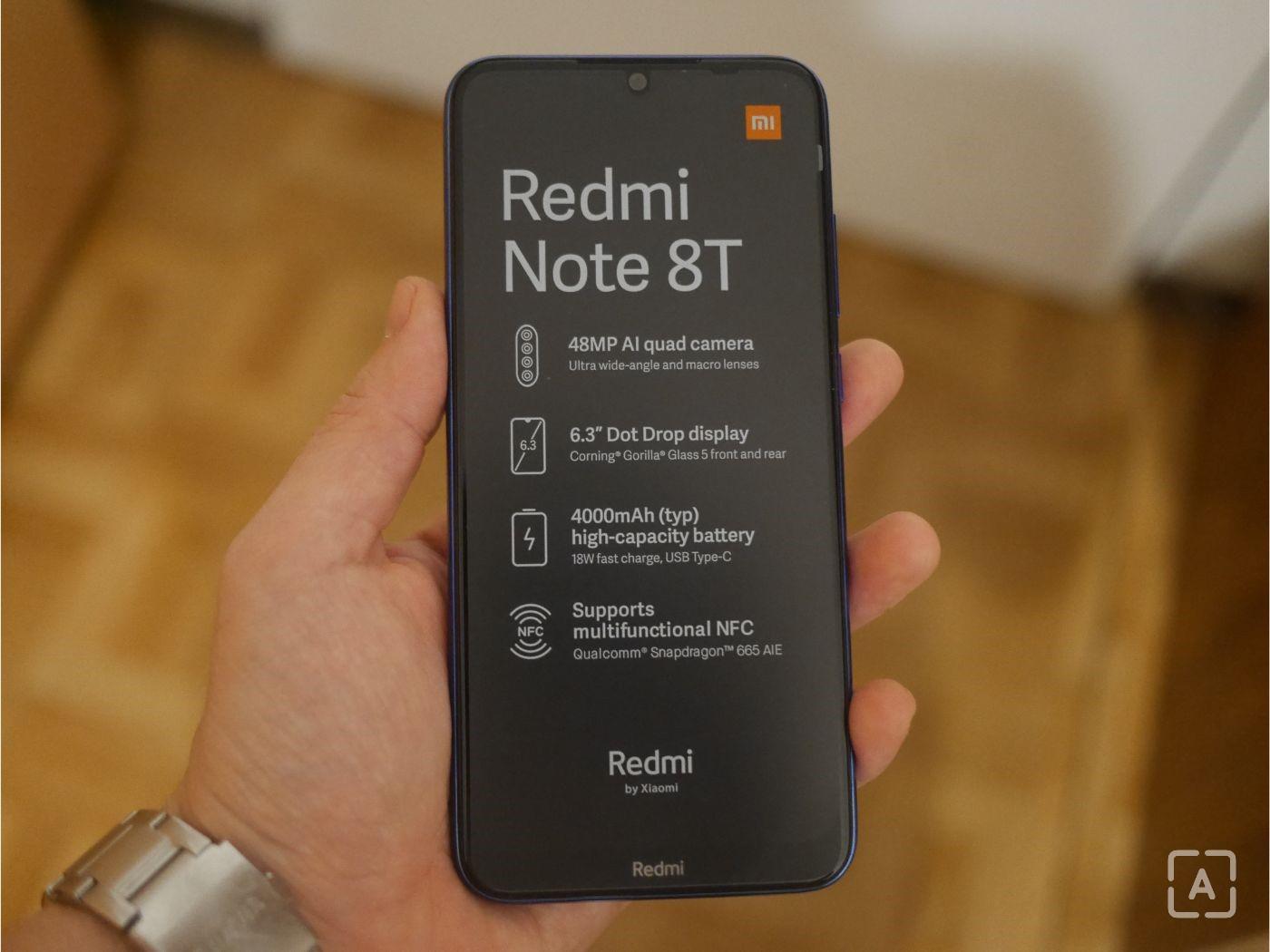 Redmi Note 8T fólia