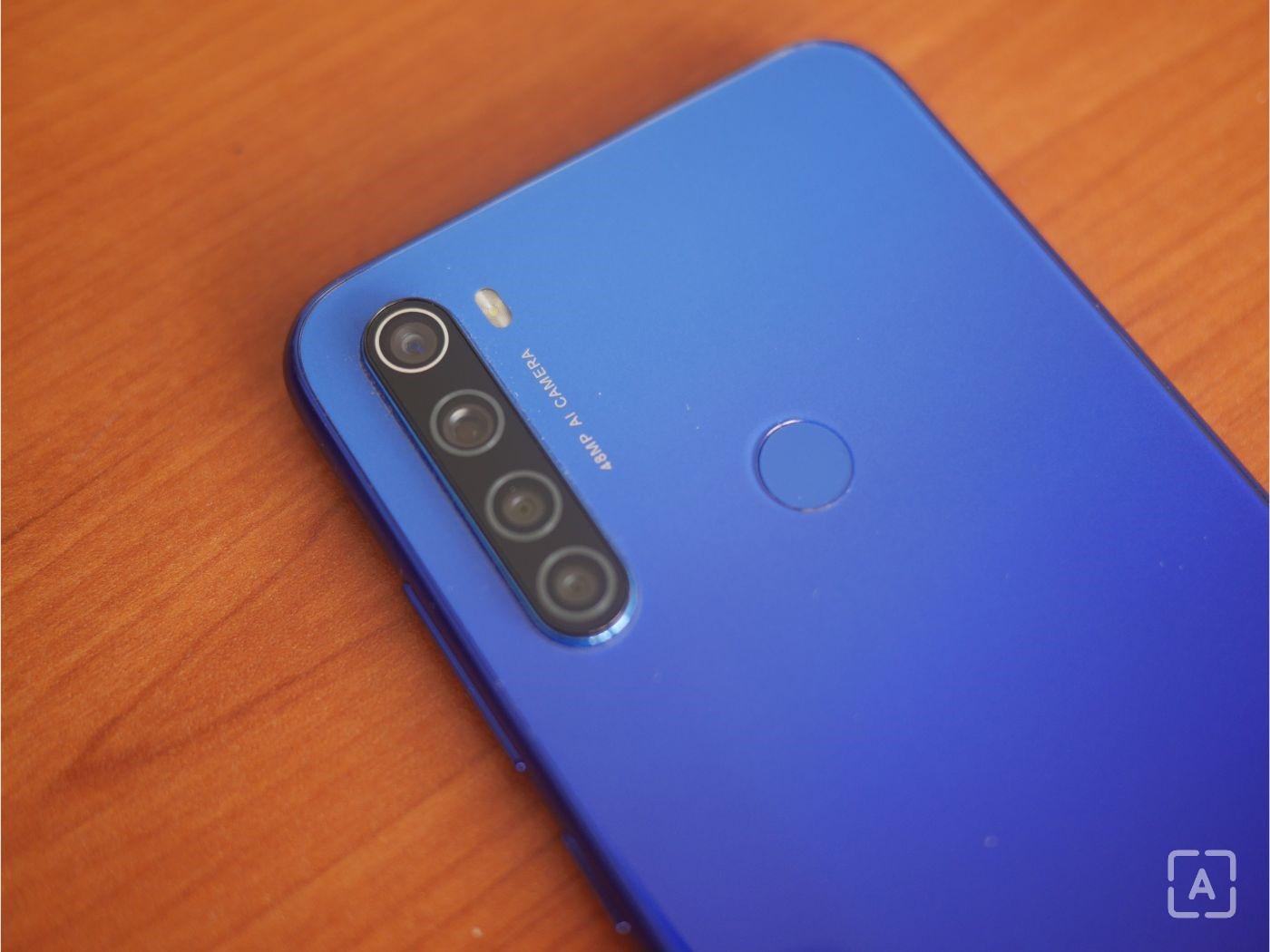 Redmi Note 8T fotoaparát