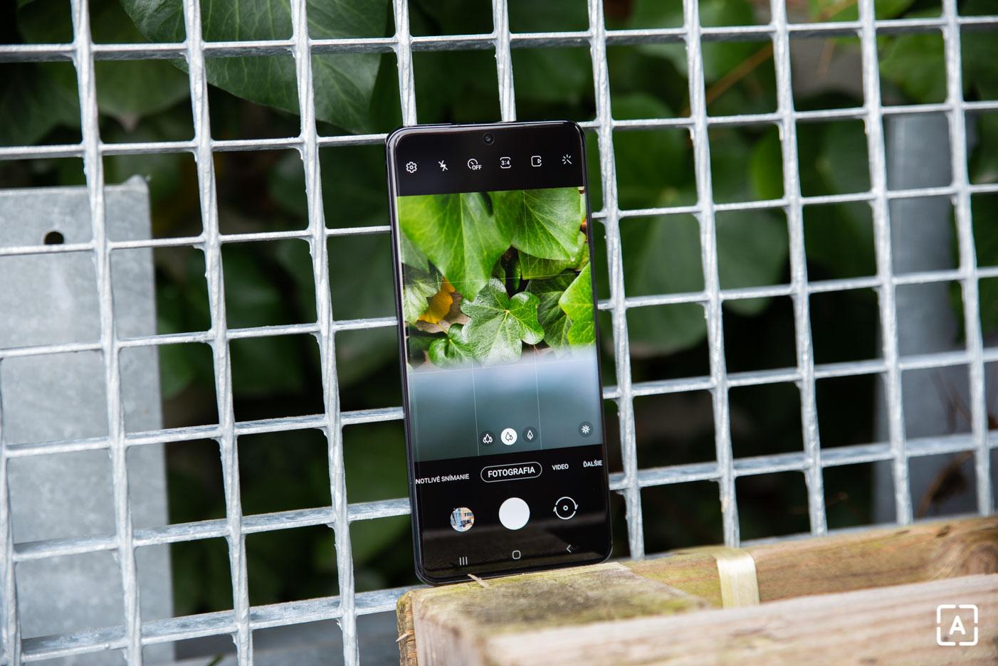 Samsung Galaxy S20 Ultra fotografovanie