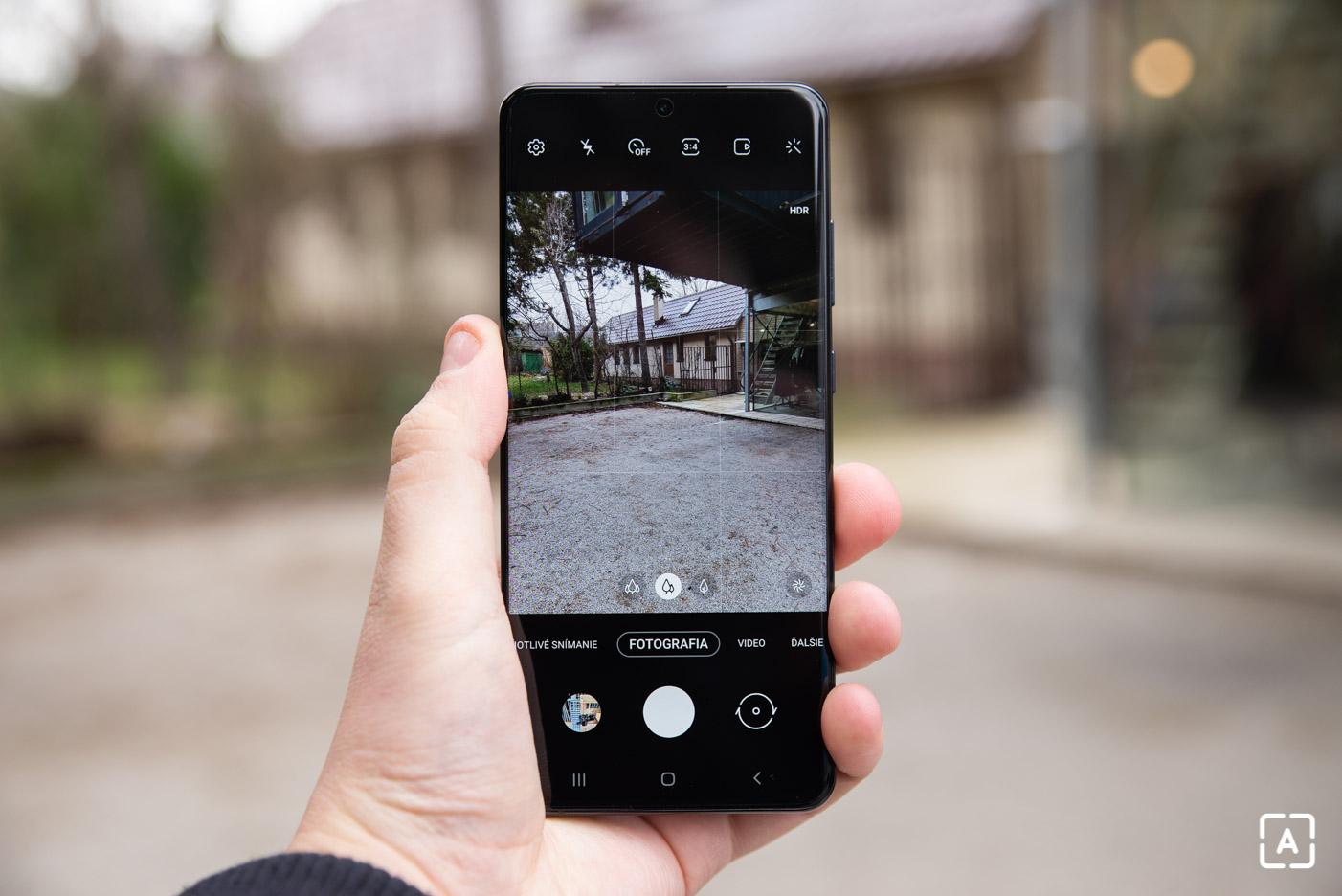 Samsung Galaxy S20 Ultra fotoaplikacia