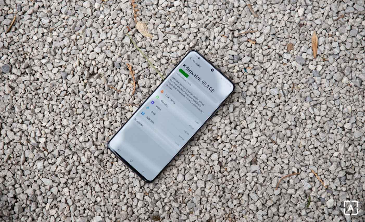 Samsung Galaxy S20 Ultra pamat