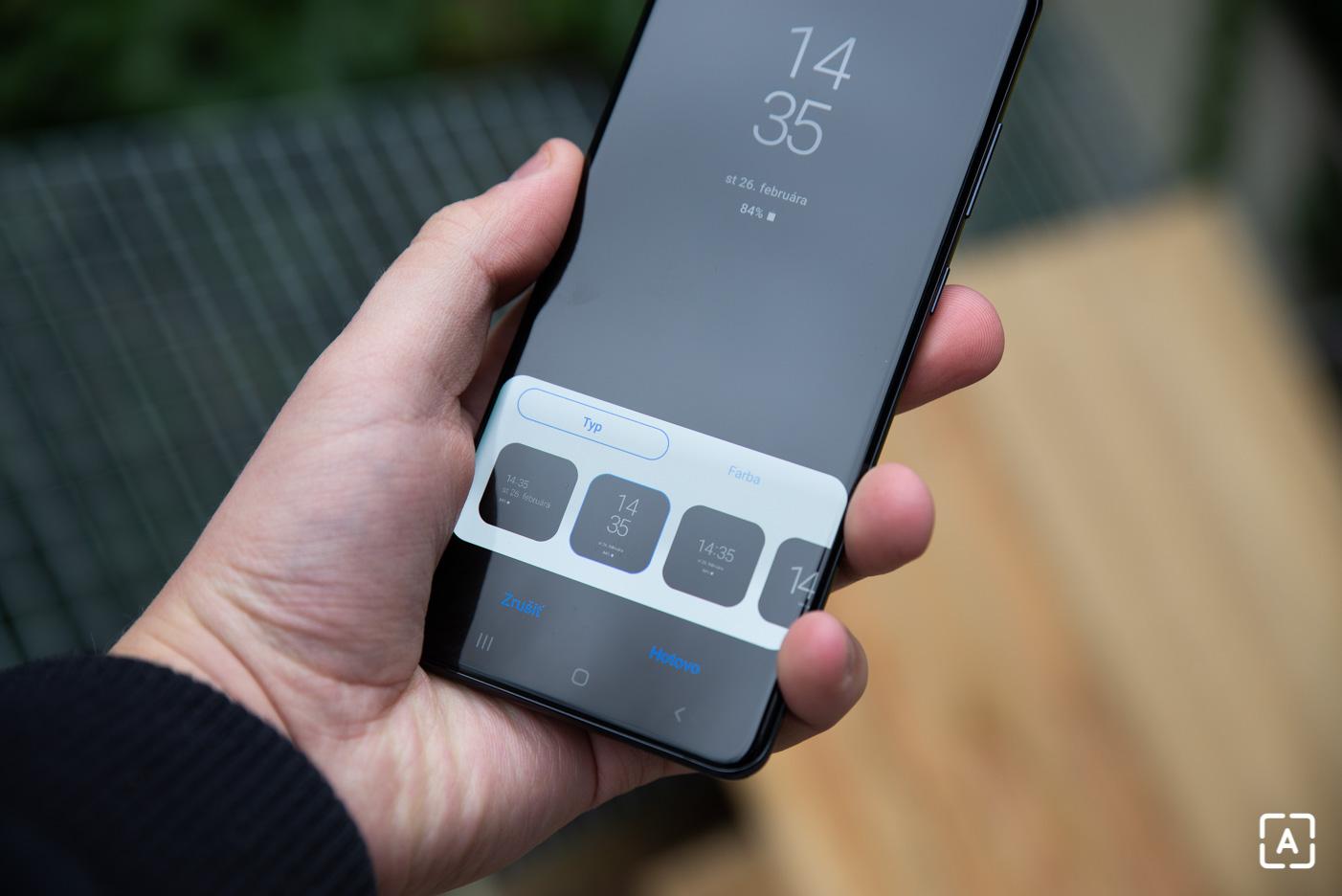 Samsung Galaxy S20 Ultra always on