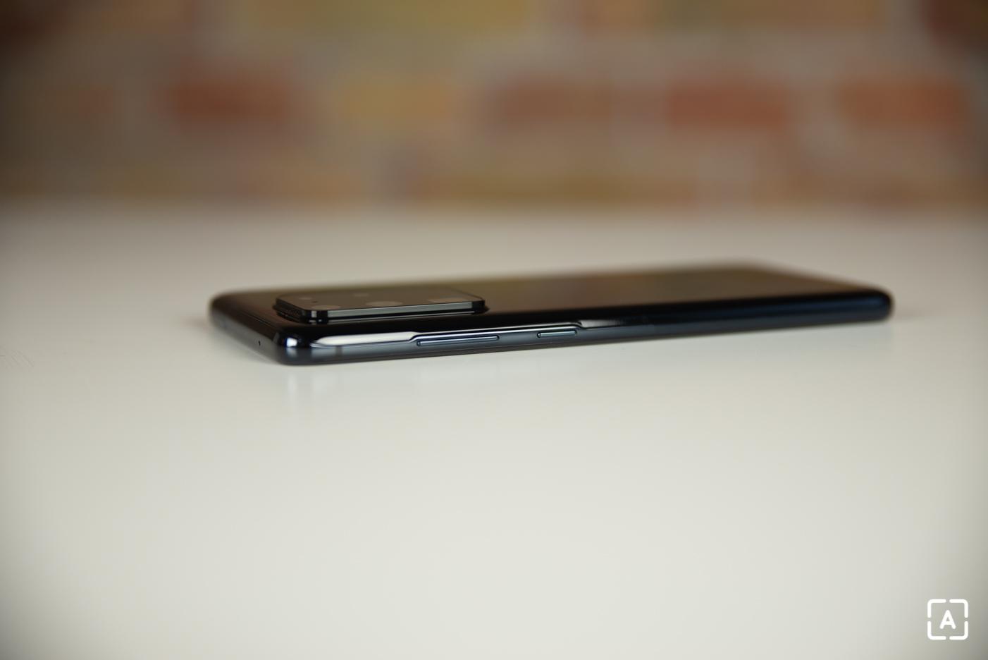 Samsung Galaxy S20 Ultra zamykacie tlacidlo
