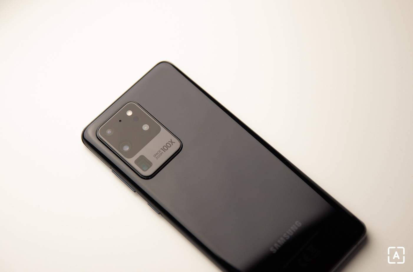 Samsung Galaxy S20 Ultra fotoaparat