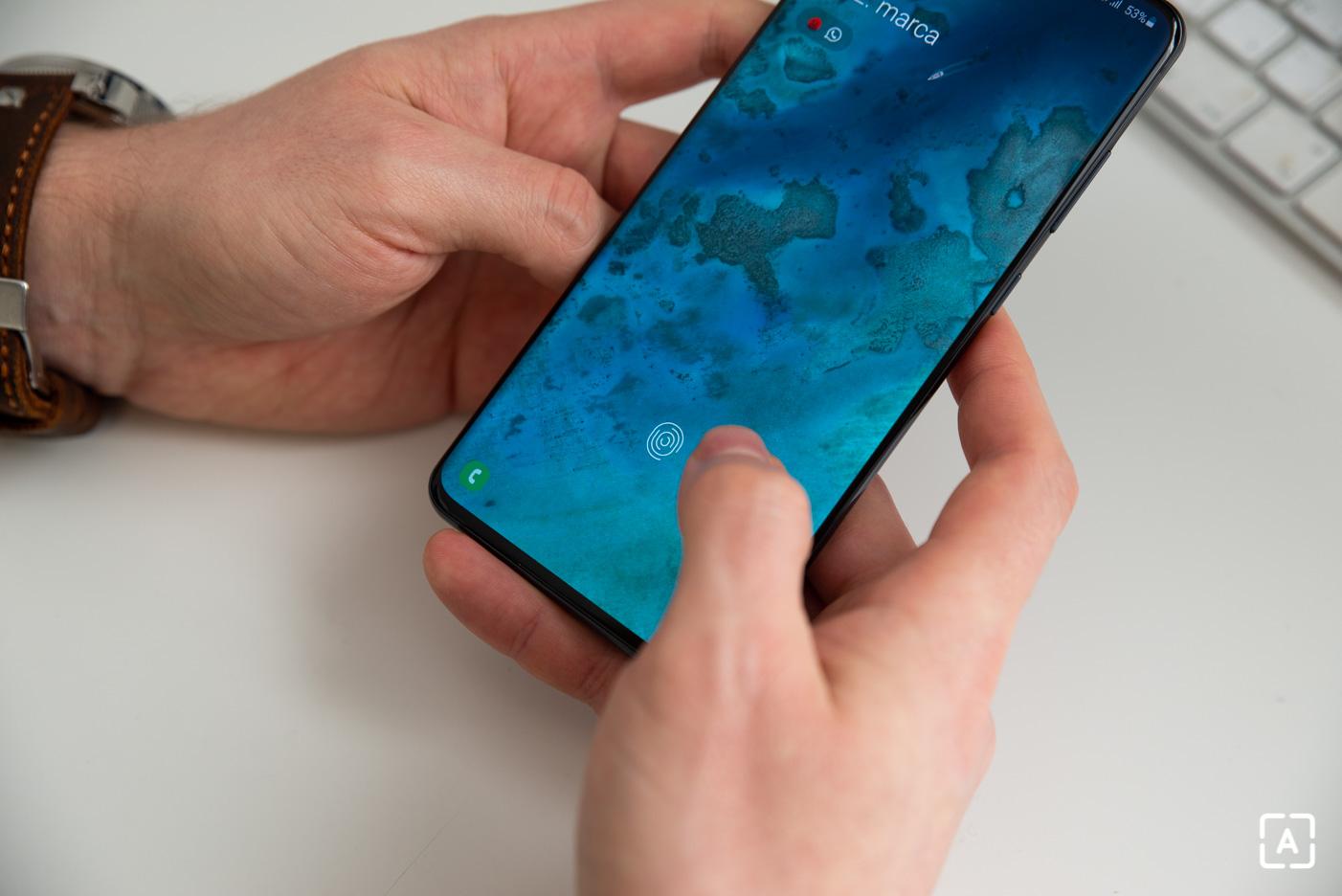 Samsung Galaxy S20 Ultra odomykanie