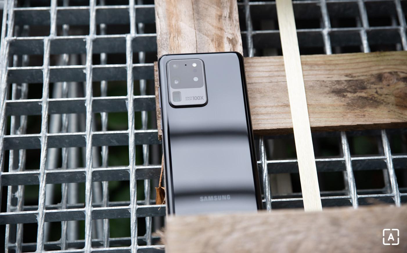 Samsung Galaxy S20 Ultra zoom