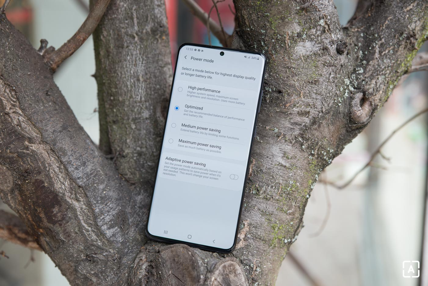 Samsung Galaxy S20+ rezimy