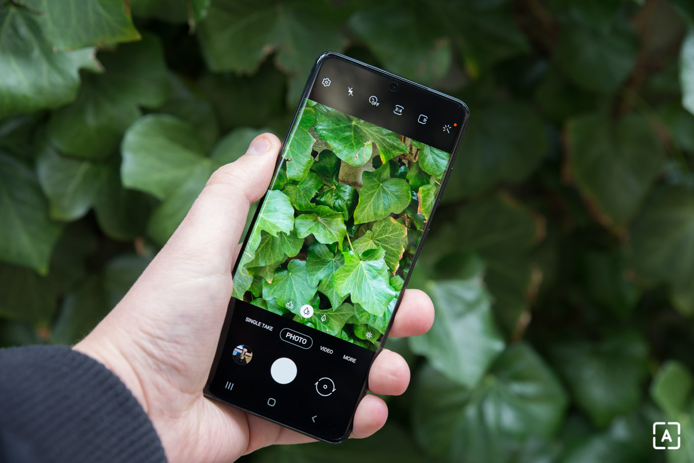 Samsung Galaxy S20+ fotenie
