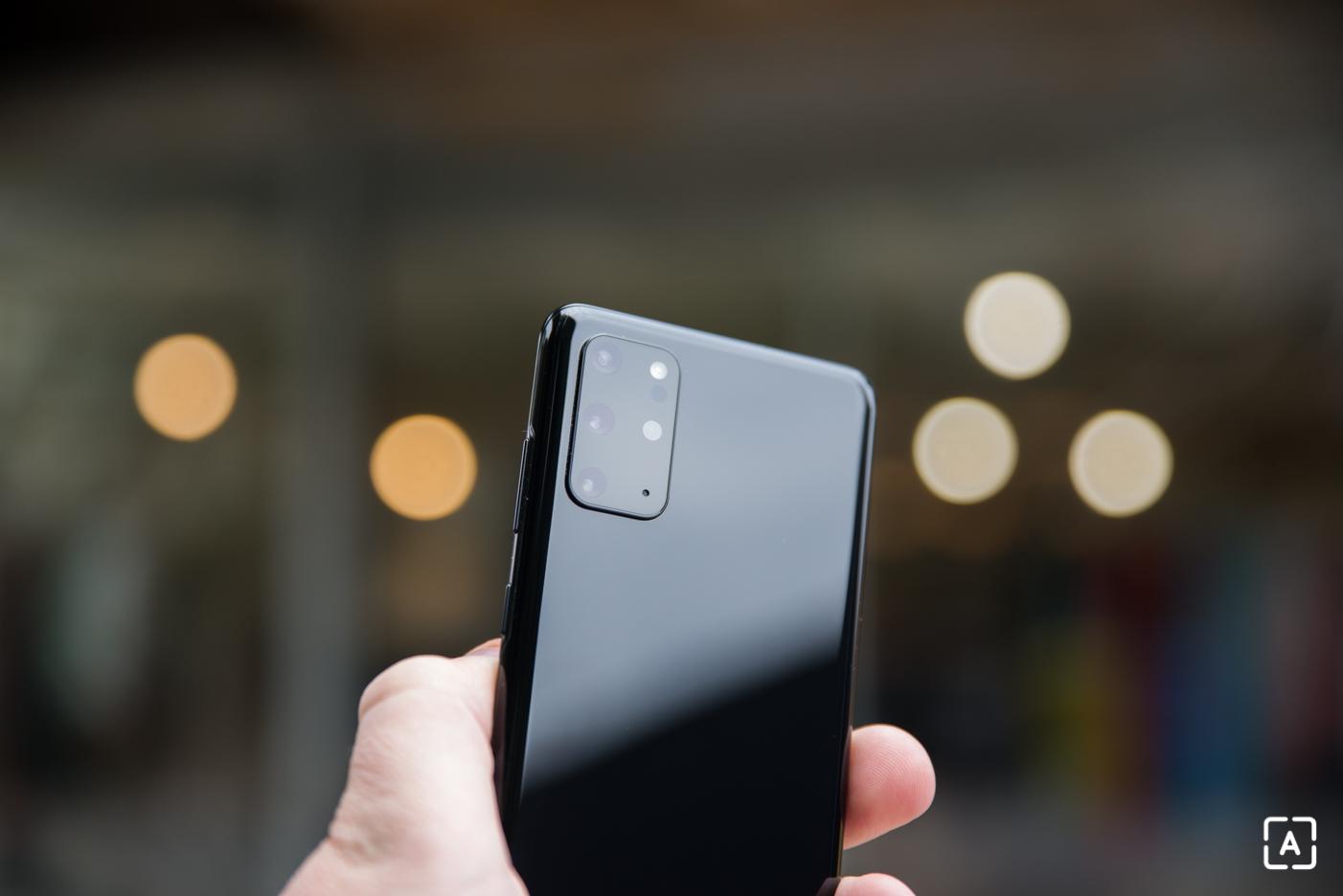 Samsung Galaxy S20+ fotoaparat