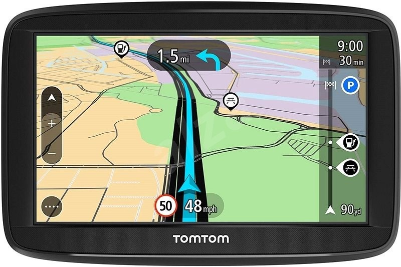 TomTom Start 52 Europe displej