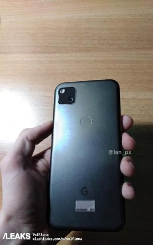 google pixel 4a únik