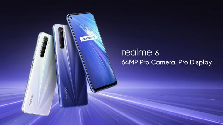 Realme 6 Pro farby