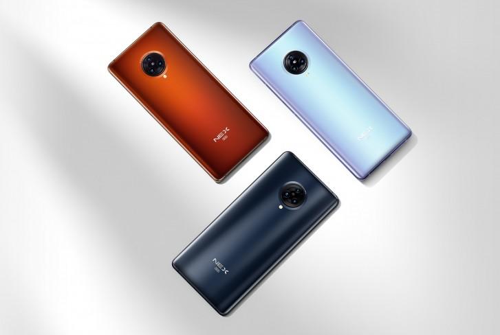 Vivo NEX 3S 5G farby
