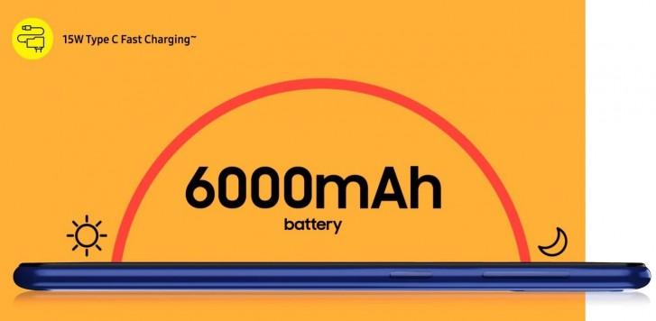 Samsung Galaxy M21 batéeria