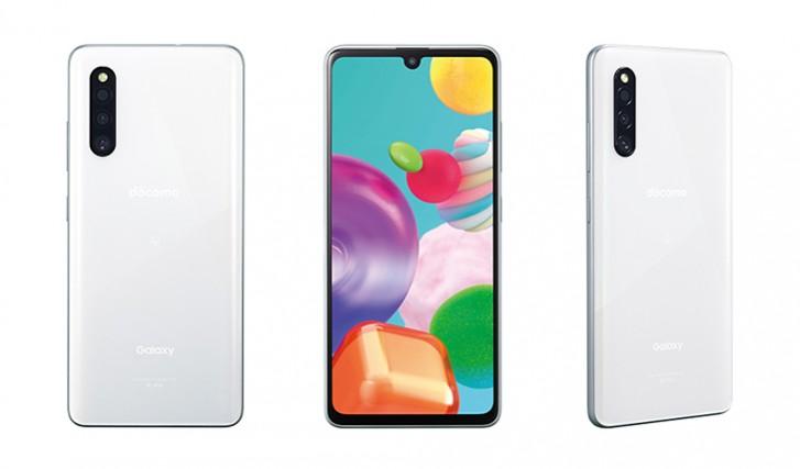 Samsung Galaxy A41 biely