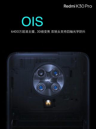 Redmi K30 Pro fotoaparát
