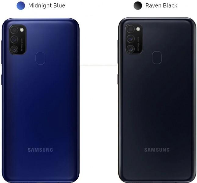 Samsung Galaxy M21 farby