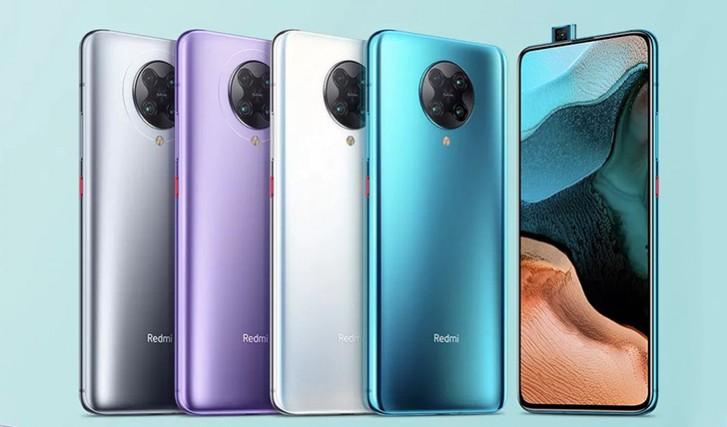 Redmi K30 Pro farby